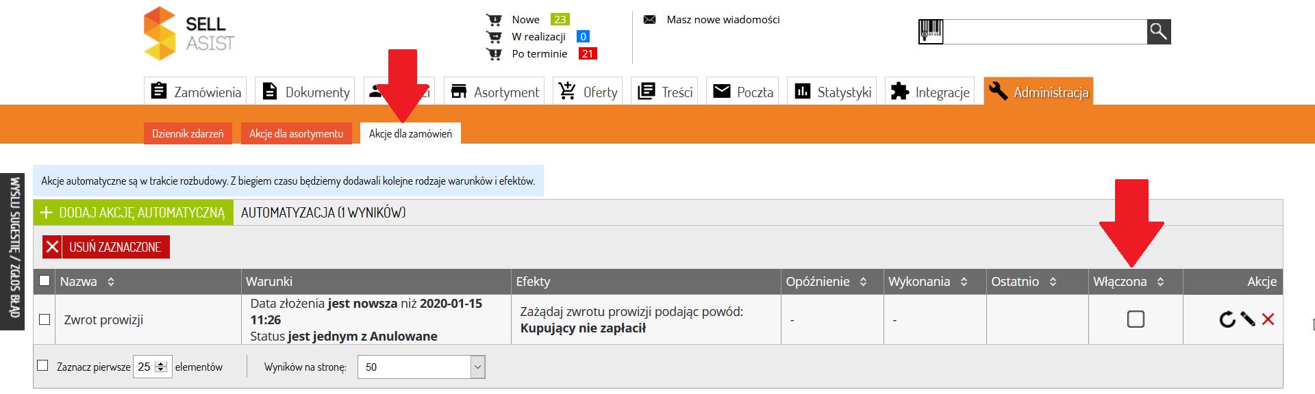 Jak Automatycznie Wystapic O Zwrot Prowizji Z Allegro Zarzadzanie Sprzedaza Internetowa Integracja Sklepu Z Allego Amazon Ebay